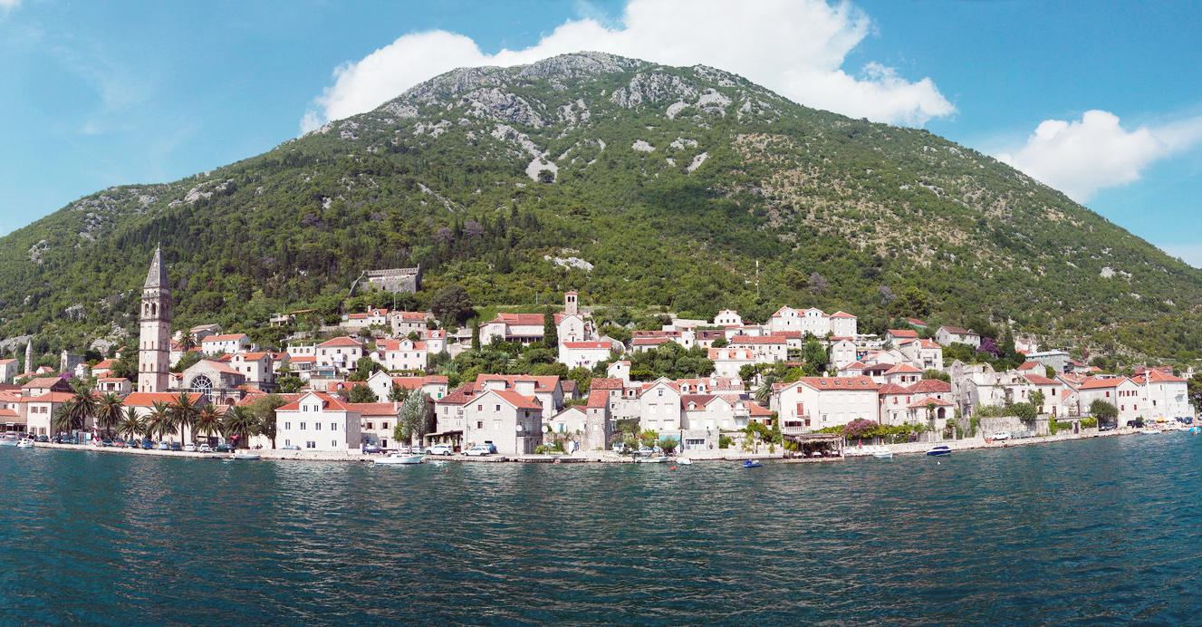 Panorama of Perast